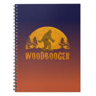 Woodbooger Vintage Sunset Notebooks