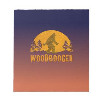 Woodbooger Vintage Sunset Notepad