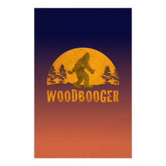 Woodbooger Vintage Sunset Stationery