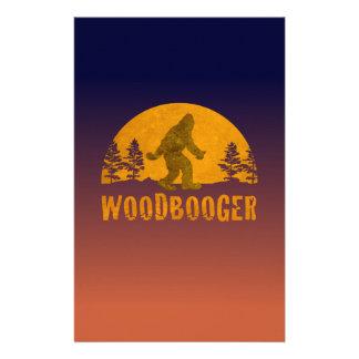 Woodbooger Vintage Sunset Stationery