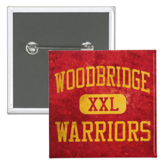 Woodbridge Warriors Athletics Pinback Button