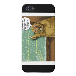 Woodchuck Physics Funny Gifts Mugs & Cards iPhone 5 Covers