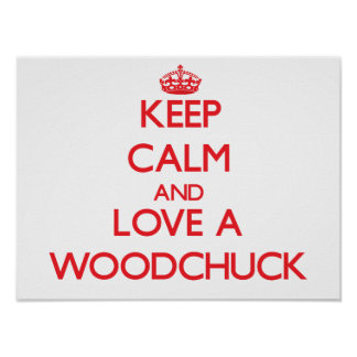 Woodchuck Posters
