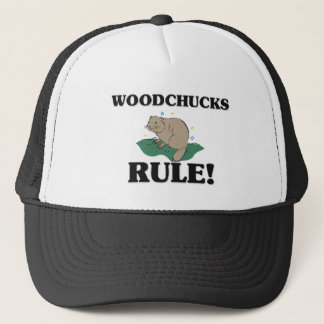 WOODCHUCKS Rule! Trucker Hat