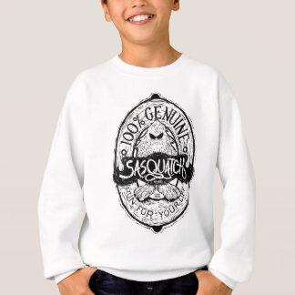 Woodcut Sasquatch Label Sweatshirt