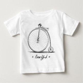 Woodcut Vintage Bicycle Shirt