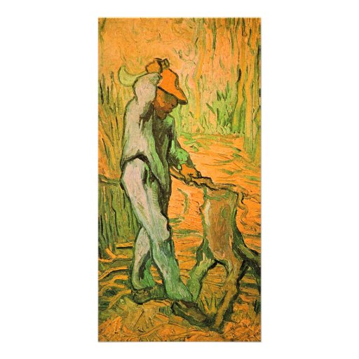 Woodcutter  by Vincent van Gogh Photo Greeting Card