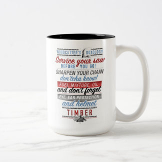 Woodcutter's Doxology mug