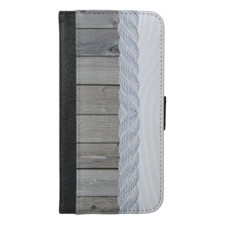 Wooddream iphone change purse hoesje iPhone 6/6s plus wallet case