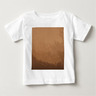 Wooded Brown Background Baby T-Shirt