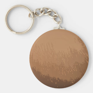 Wooded Brown Background Basic Round Button Key Ring