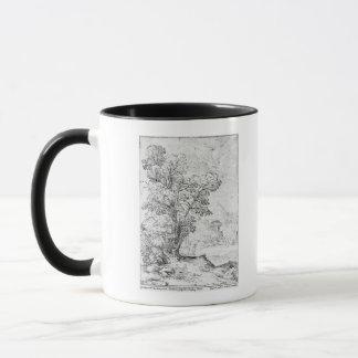 Wooded landscape mug