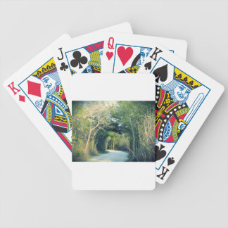 Wooded Path Poker Deck