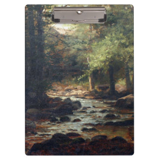 Wooded Stream Clipboard