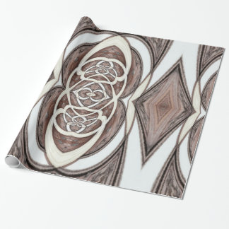 Wooden Abstract 1 Wrapping Paper