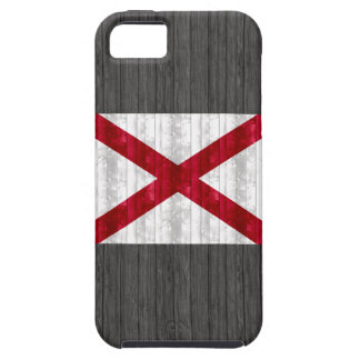 Wooden Alabaman Flag Case For The iPhone 5