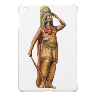 Wooden American Indian iPad Mini Case