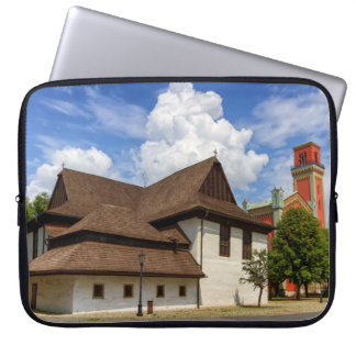 Wooden articular church in Kezmarok, Slovakia Laptop Sleeve