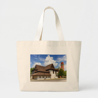 Wooden articular church in Kezmarok, Slovakia Large Tote Bag