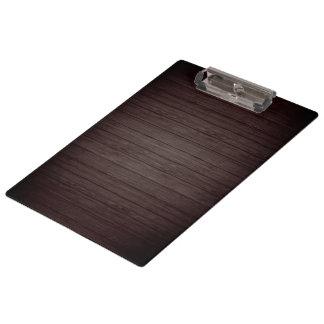 Wooden Background Modern Elegant Clipboard