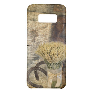Wooden Barrel western country horseshoe wheat Case-Mate Samsung Galaxy S8 Case