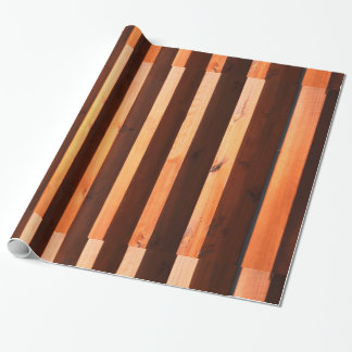 Wooden beams wrapping paper