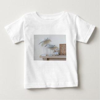 Wooden birds and birch sheep baby T-Shirt