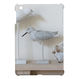 Wooden birds and birch sheep iPad mini case