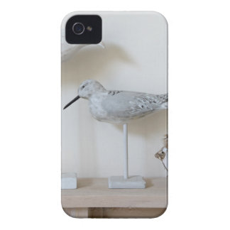 Wooden birds and birch sheep iPhone 4 Case-Mate case
