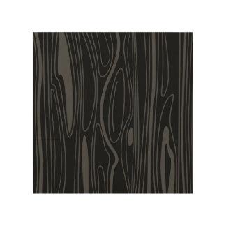 Wooden board : black wood wood wall art