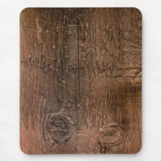 Wooden board mouse pad