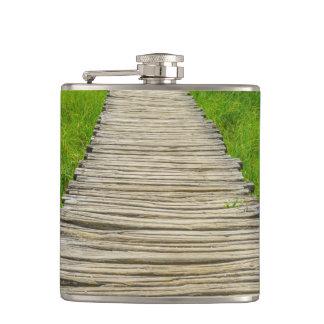 Wooden Boardwalk Hiking Trail Flask