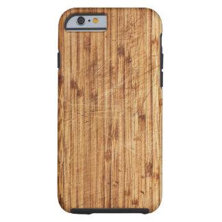 wooden boart textures tough iPhone 6 case