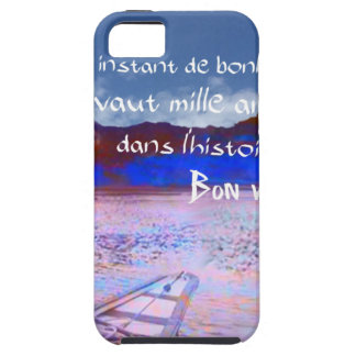 Wooden boat with message. iPhone 5 cases