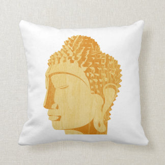 Wooden Buddha Pillow