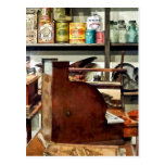 Wooden Cash Register in General Store Postcards