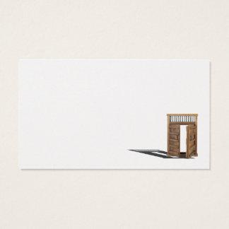 Wooden castle door locked and unlocked