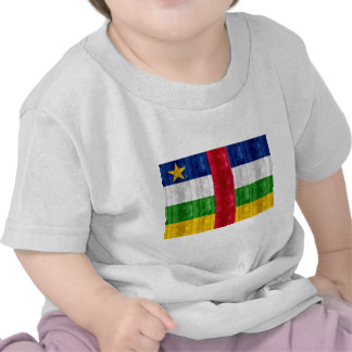 Wooden Central African Flag Tshirt