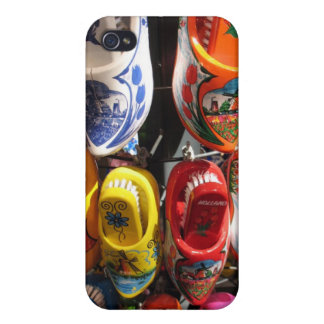 Wooden Clogs from Amsterdam Covers For iPhone 4