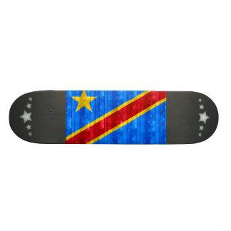 Wooden Congese Flag Skate Deck