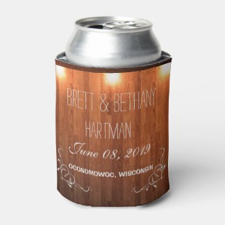 Wooden Country Coozie