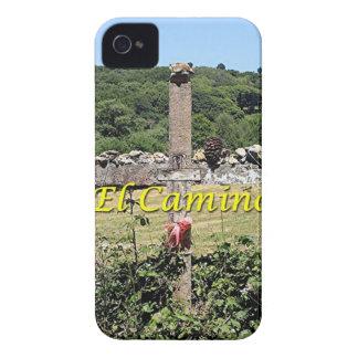 Wooden cross, El Camino, Spain Case-Mate iPhone 4 Cases