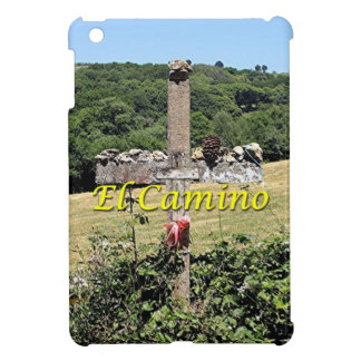 Wooden cross, El Camino, Spain iPad Mini Cases