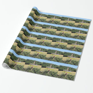 Wooden cross, El Camino, Spain Wrapping Paper