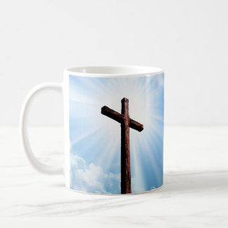 Wooden Cross Mug