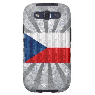 Wooden Czech Flag Samsung Galaxy S3 Cases