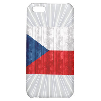 Wooden Czech Flag Cover For iPhone 5C