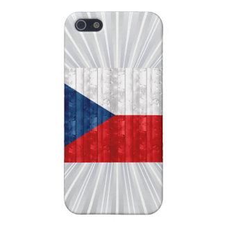 Wooden Czech Flag iPhone 5 Cover