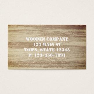 Wooden Design Business Cards