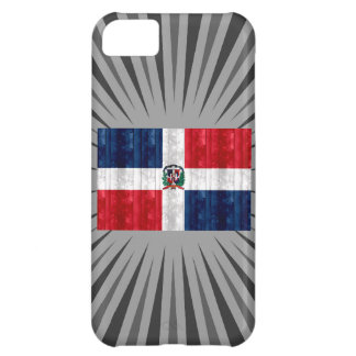 Wooden Dominican Flag iPhone 5C Case
